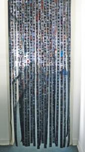Dia-Vorhang